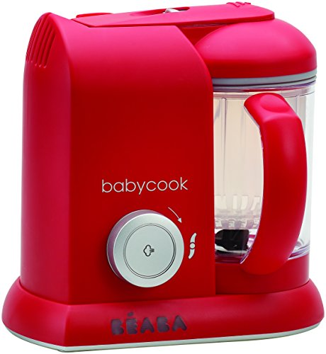 BÉABA Mixeur-Cuiseur Babycook Solo, Rouge