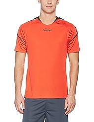 Hummel T-Shirt atmungsaktiv – AUTHENTIC CHARGE POLY JERSEY – Trainingsshirt mit Gitter-Mesh – Fitnessshirt kurze Ärmel Herren – Sportshirt div. Farben - Tshirt Rundhals