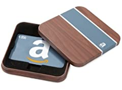 Idea Regalo - Buono Regalo Amazon.it - €200 (Cofanetto Legno)