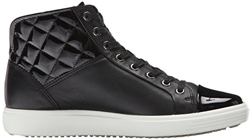 Ecco Ecco Soft 7, High-Top femme Noir (BLACK/POWDER58658)