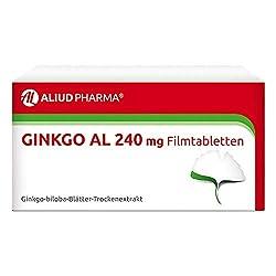 Ginkgo AL 240mg 60 stk