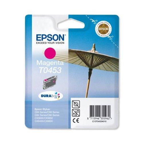 Preisvergleich Produktbild Epson T0453 Tintenpatrone Sonnenschirm, Singlepack, magenta