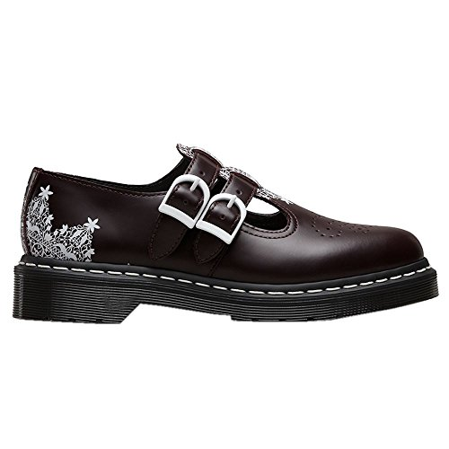 Dr.Martens Womens Mary Jane 8065 Lace Smooth Leather Shoes