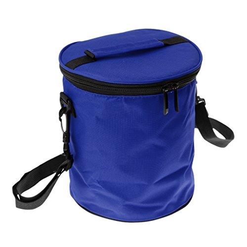 Sharplace Borsa da Campeggio per Viaggio Picnic Cibo Pranzo Saccho Organizer - Caffè Blu