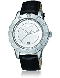 Pierre Cardin Herren-Armbanduhr XL Parangon Analog Quarz Leder