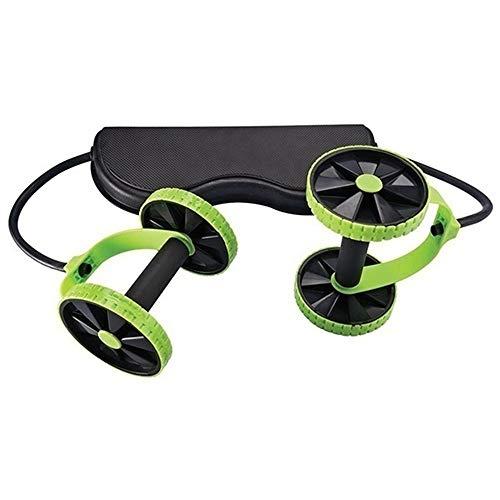 Xxsmile Multifunktions Ab Roller Pull Bauchtrainer Doppelt Räder ABS Abdominal Trainer kit Sportgeräte Set Heim Fitness Geräte