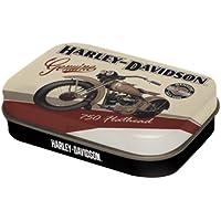 Nostalgic Art Pillendose Harley-Davidson Flathead Bikergeschenk