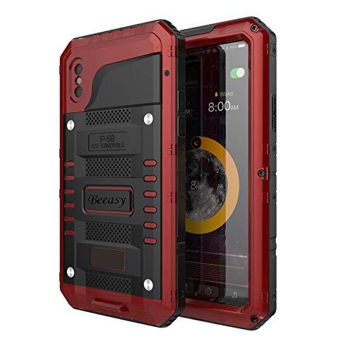 74b21dd77af Beeasy Funda Antigolpes iPhone XS, [Sumergible] Carcasa Impermeable ...