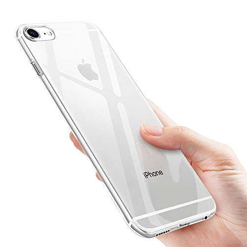 iKALULA Kompatibel mit iPhone 6 Handyhülle, KisiPhone6T5 Silikon iPhone 6S Schutzhülle Ultra Dünn Kratzfest Stoßfest Klar Hülle Weich Flexibel TPU Hülle für iPhone 6/iPhone 6S Case Cover-Transparent (6-cover Slim Iphone Ultra)