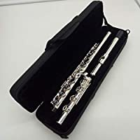 Music Fancier Club - Flauta de alta calidad para estudiantes con 17 agujeros abiertos y estuche