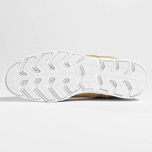 Schuhe Djinns Herren Canvas Light Beige Forlow Sneaker P58rw5q