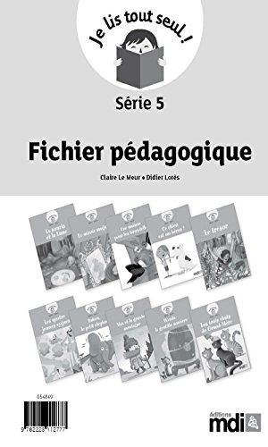 Fichier pédagogique - Je lis tout seul ! Série 5