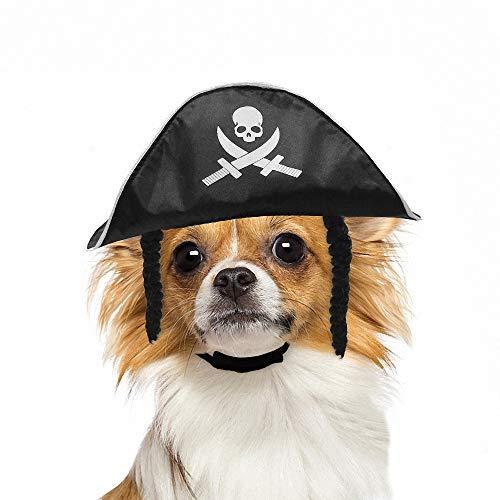 FZ FUTURE Halloween Piraten Hut, Katze und