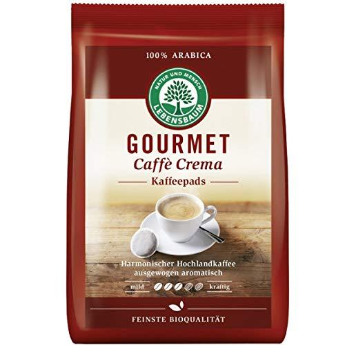 "Lebensbaum Kaffeepads ""Gourmet Caffè Crema"", klassisch (126 g) - Bio"