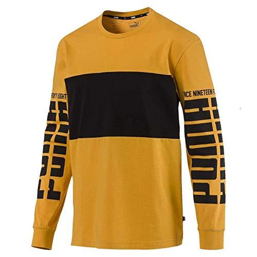 Puma Rebel Up LS Tee, T-Shirt Uomo