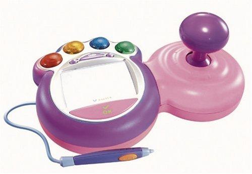 Vtech 80-091434 - V.Smile Lernkonsole Joystick pink