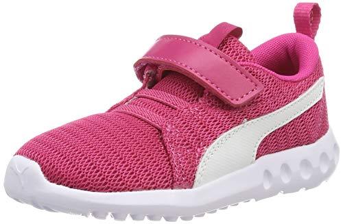 Puma Unisex-Kinder Carson 2 V Inf Sneaker Pink (Fuchsia Purple White), 22 EU -
