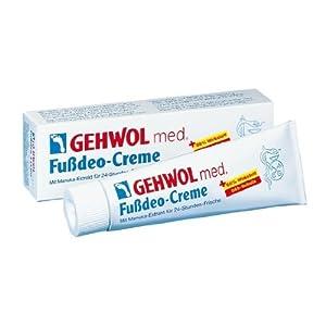 Gehwol Med Fussdeo-Creme, (Grundpreis: 8.46 EURO pro 100 ml)