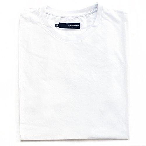 DEPARTED Fashion Shirt Blank Weiß