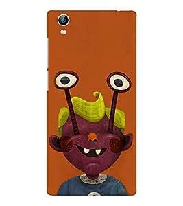 EPICCASE Freaky boy Mobile Back Case Cover For Vivo Y51 (Designer Case)