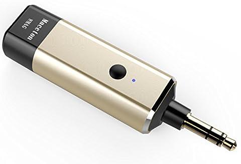 Maceton Transmetteur Bluetooth sans fil pour iPod, TV, MP3, ordinateur portable, ordinateur de bureau, ordinateur avec écouteurs Bluetooth, haut-parleurs Bluetooth, récepteur Bluetooth et tous les périphériques audio avec fonction Bluetooth