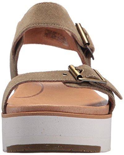 UGG Australia Angie, Sandali con Cinturino Alla Caviglia Donna Verde (Antilope)