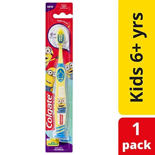 Colgate Smiles Junior 6+ Jahre weichen Zahnbürste, Farblich Sortiert