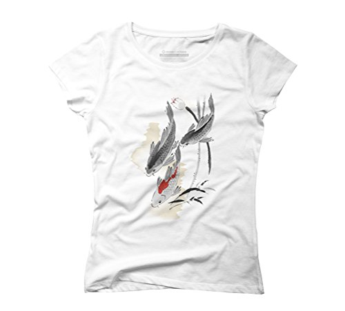 Summer Is Here Women's Graphic T-Shirt - Design By Humans White