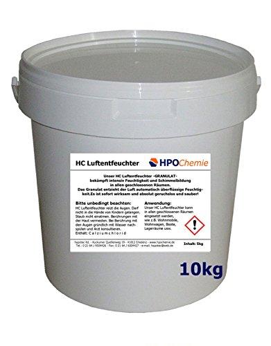 HPOChemie Luftentfeuchter -GRANULAT- 10kg Eimer