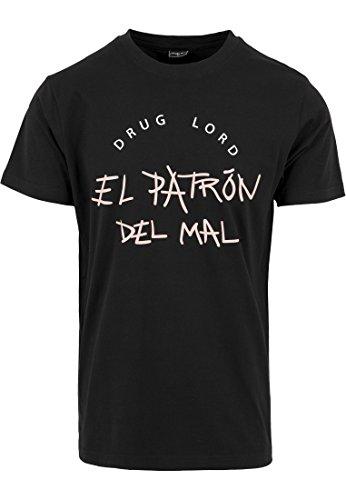 el-patron-del-mal-tee-black-s