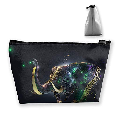 Trapezoid Toiletry Pouch Portable Travel Bag Ire Elephant Cosmetic Bags