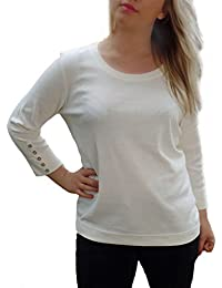 TopsandDresses - Camiseta de manga larga - Manga Larga - para mujer