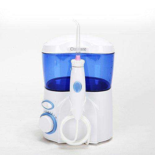 Tragbar Leistungsstarker wiederaufladbarer Professional electric Munddusche/Pick Zahnpflege schnurlose Oral Jet Irrigator Zubehör für Zahn Reinigung ar-w-02(nur AC)