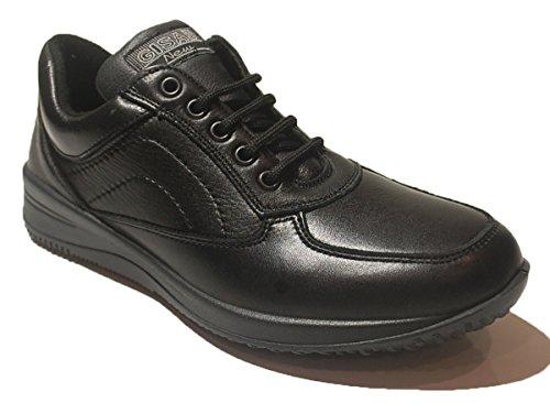New GISAB - Zapatos de Cordones para Hombre Beige Size: 45 kdsjIQ1
