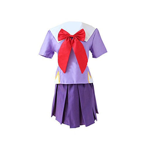 Estyle Fashion Lolita Matrose Schuluniform Schick Cosplay Kostüm Lila(Size ()