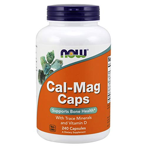 Now Foods Cal-Mag Caps Standard, 240 Kapseln -