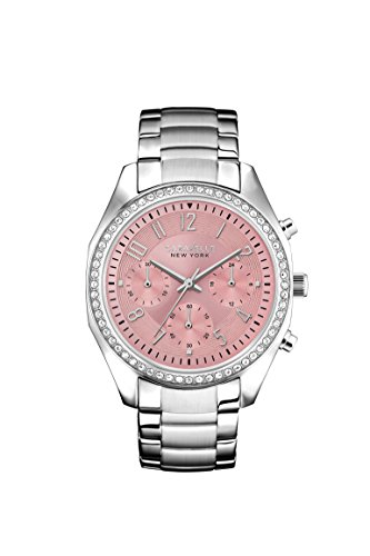 Caravelle New York Women's Quartz Stainless Steel Dress Watch (Model: 43L191)