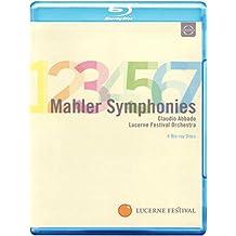 Claudio Abbado dirigiert Mahler Lucerne Festival Orchester Symphonien 1-7 Blu-ray Box