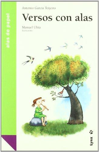 Versos con alas / Winged Poems (Alas De Papel: Verde / Paper Wings: Green)