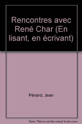 Rencontres avec René Char