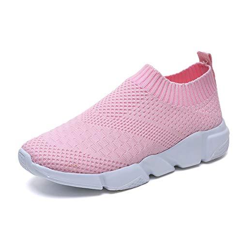 Zapatillas de Running Mujer Calzado de Atletismo Gimnasia Ligero Sneakers Aire Libre Deporte Casuales...