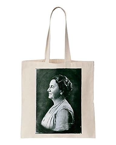 Vintage Photo de la Reine de Wilhelmine, 1930. Imprimé Sac fourre-tout