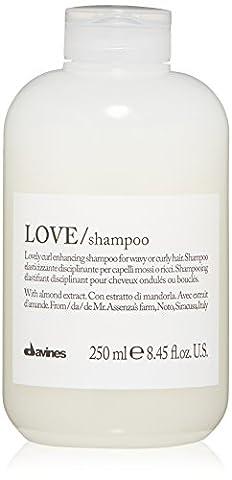 Essential Haircare Shampooing volumisant Love Lovely Curl pour cheveux frisés et ondulés - Extraits d'huile de pistache - 250ml (8,45oz)