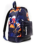 Desigual Camo Flower Backpack Azul Tinta