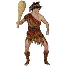 Atosa - Disfraz de hombre de las cavernas para hombre, talla XL (97034)