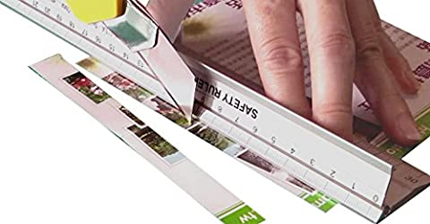 Ruler New Design 30 cm (12 inch) Metal Craft Safety