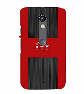 PrintVisa Quotes & Messages Wine Aerobics 3D Hard Polycarbonate Designer Back Case Cover for Motorola Moto X Play