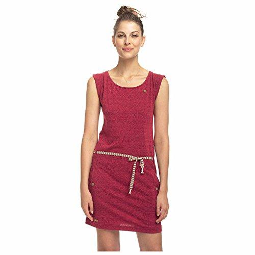 Ragwear Damen Jerseykleid Raspberry