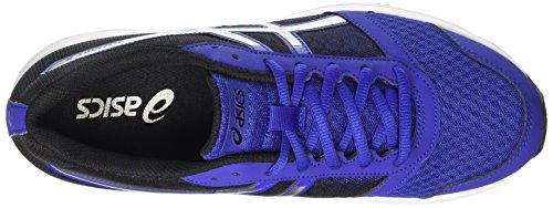 ASICS Patriot 8 - Scarpe Running Uomo, Blu (asics Blue/silver/black 4393), 44 EU Blu (asics Blue/silver/black 4393)