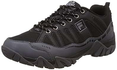 Fila Men's Dune Black and Graphite Multisport Training Shoes -8 UK/India (42 EU)